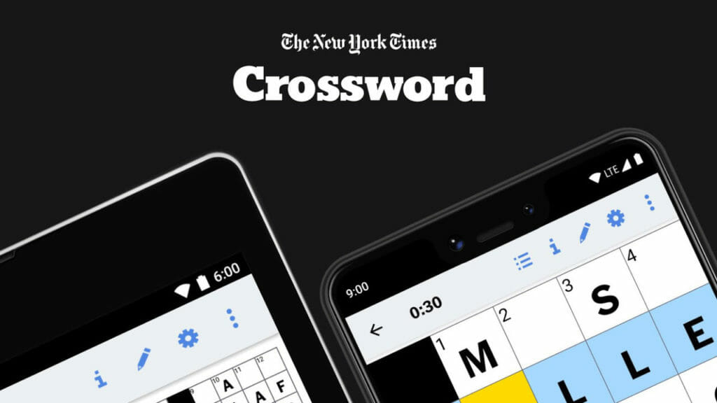 NYTimes Crossword Puzzle App for Android Smartphones
