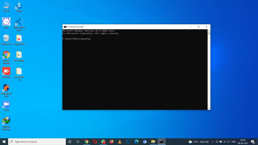 Fix Network Settings Using Command Lines