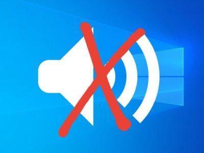 fix audio issues in Windows 10