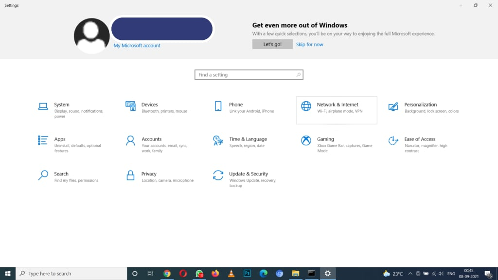 NetWork Issues On The Windows